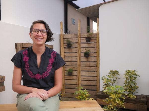 Claudia, coordinatrice ReciVeci Quito