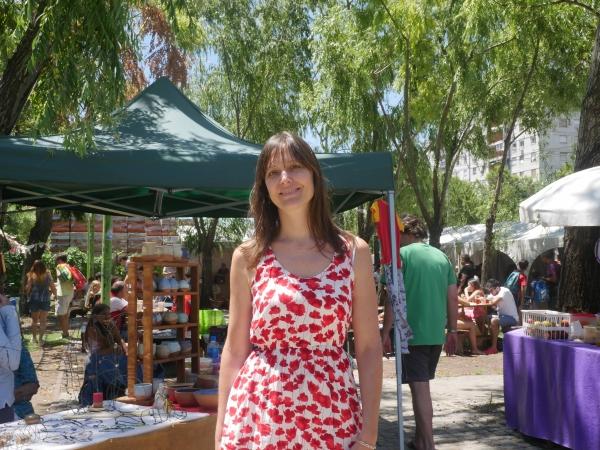 Florencia, coordinatrice des marchés Sabe La Tierra